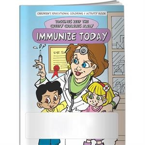 Coloring Book - Immunize Today: Vaccines Keep The Creepy Crawlies Away