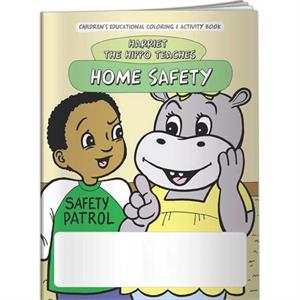 Coloring Book - Home Safety With Harriet The Hippo