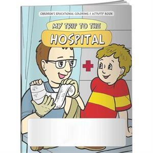 Coloring Book - My Trip To The Hospital