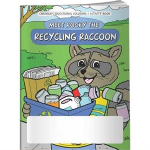 Coloring Book - Meet Rocky The Recycling Raccoon