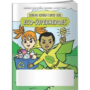 Coloring Book - Living Green With The Eco-superheroes