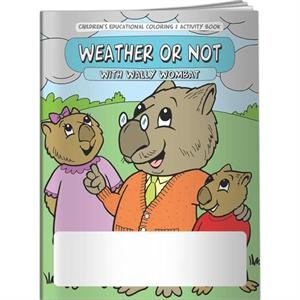 Coloring Book - Weather Or Not With Wally Wombat