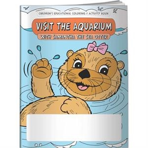 Coloring Book - Visit The Aquarium With Samantha The Sea Otter