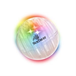 Buzball (tm) Airglow (tm) - Clear Air Glow Ball That Shows A Full Rainbow Of Color When Bounced
