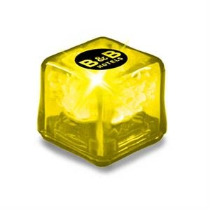 Ultraglow - Yellow/yellow Led - Ice Cube With Color Led