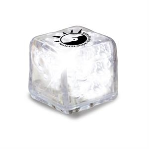 Ultraglow - Clear/white Led - Ice Cube With Color Led