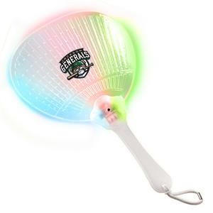 Handheld Fan With Multi-color Led Lights