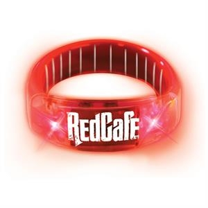 Buzbracelet (tm) - Red - Durable Plastic Bracelet With Pull-apart Clasp