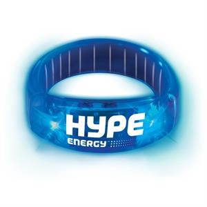 Buzbracelet (tm) - Blue - Durable Plastic Bracelet With Pull-apart Clasp