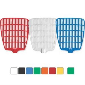 Standard Net Design - Fly Swatter With Rigid Handle And Custom Graphics Within Net