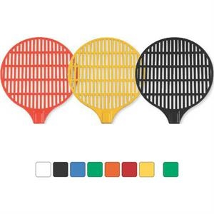 Round Net Design - Fly Swatter With Rigid Handle And Cu