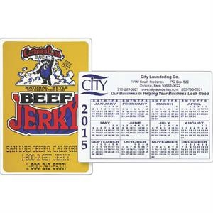 "4"" X 6"" - Flexible Magnetic Calendar"