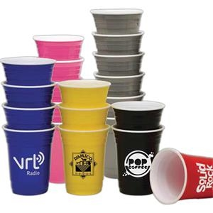 Pink - 16 Oz. Super Saver Fill Up Cup; Double Wall