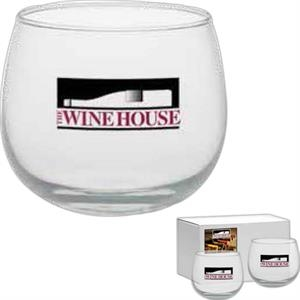 Stemless Wine Glass, 13 Oz