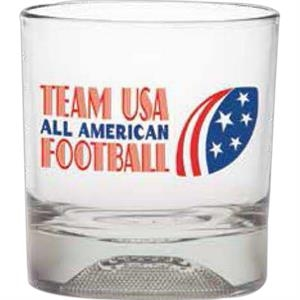 Football - Sport Bottom Dof Glass, 11 Oz