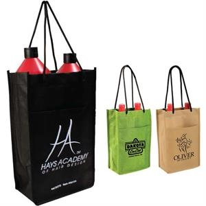 Non-woven Polypropylene Double Wine Bottle Bag