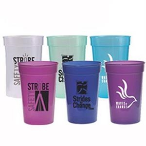 Sun Fun - 17 Oz. Stadium Cup Changes Color In Sunlight