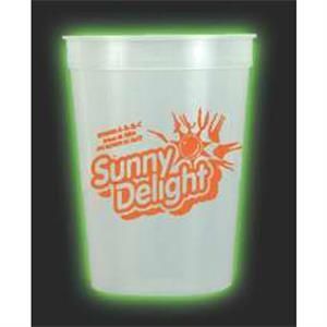 Nite-glow - 12 Oz. Glow In The Dark Stadium Cup