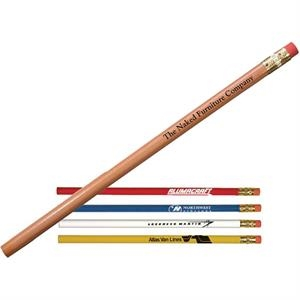 Cedar Pencil With Brass Ferrule And Pink Eraser