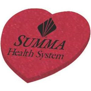 Heart - Die Cut Erasers, Approximately 2""
