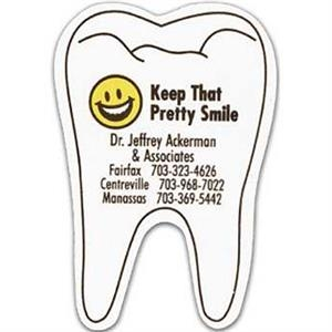 Tooth - Stock Shape Vinyl Magnet, Approximately .020 Thickness