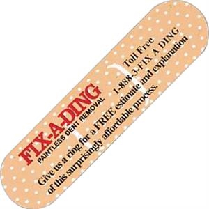 Bandage - Stock Shape Vinyl Magnet, Approximately .020 Thickness