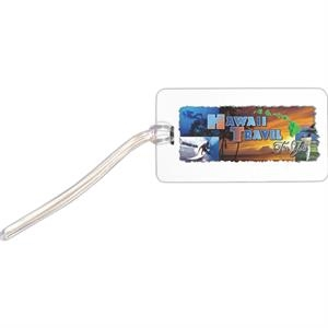 Vibra - Luggage Tag With Clear Pvc Loop