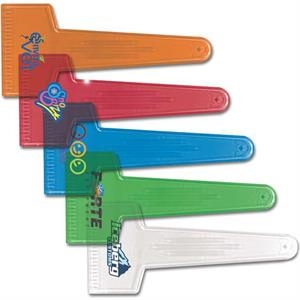 Large Translucent Ice Scraper In 5 Fun Colors!