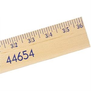Natural Finish, Extra Strength Yardstick