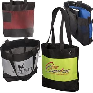 Odyssey (r) - Microfiber Tote With Mesh Back And Internal Pocket