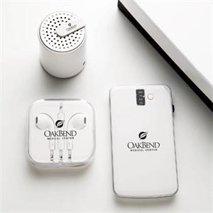 Bluetooth Speaker With Power Bank And High Quality Earphone Gift Set