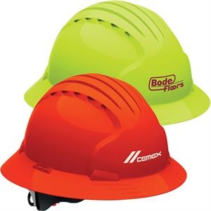 Evolution 6161 Full Brim Hi-Vis Hard Hat