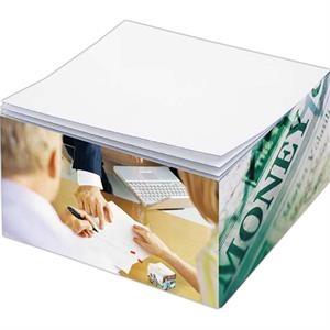 Post-it® Custom Printed Half Cube Note Pad