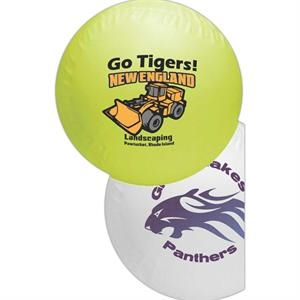 "Mini Soft Vinyl Baseball, 4 1/4"". Features A Re-inflatable Athletic Valve"