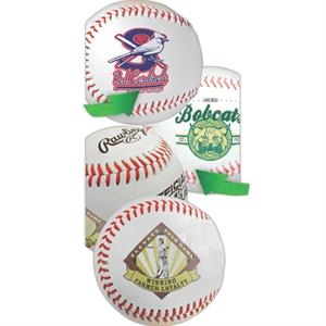 Synthetic Leather Rubber Core Baseball