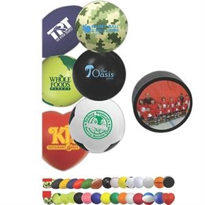 Foam Stress Reliever Is A Fun And Inexpensive Way To Advertise; Full Color Process
