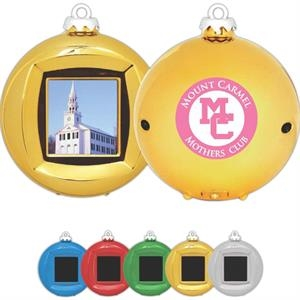 Digital Picture Ornament Includes 2aa Batteries, Usb Cord And Instruction Sheet