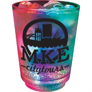 3-light 12 Oz Cup Made Of Clear Styrene