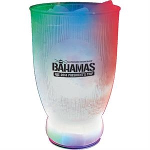 3-light 18 Oz Cup Made Of Clear Styrene