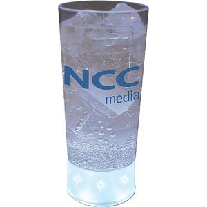 5-light 10 Oz Cup Made Of Clear Styrene/frosted Base