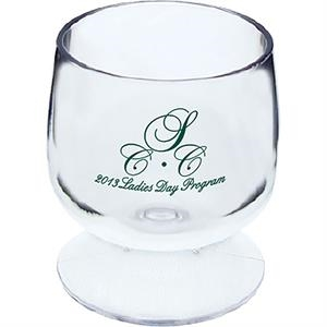"Brandy Glass Sampler, 2"" X 2.25"". 2 Oz"