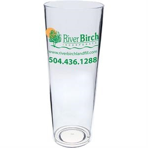 "Cup Made Of Clear Styrene, 3.375"" X 9"". 24 Oz"