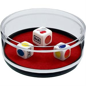 Jackpot - Compartment Coaster Caddy, Casino Theme