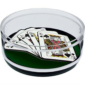 Royal Flush - Compartment Coaster Caddy, Casino Theme