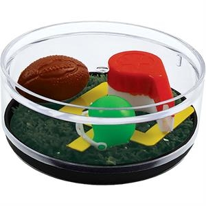 Kick Off - Compartment Coaster Caddy, Sports Theme