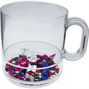 Celebrate - 12oz Compartment Coffee Mug, Festive Theme