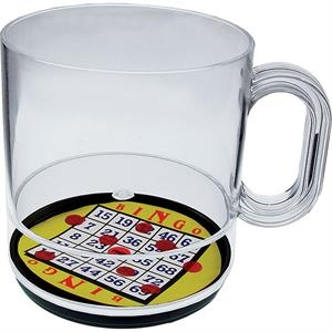 Bingo - 12 Oz Compartment Coffee Mug, Casino Theme