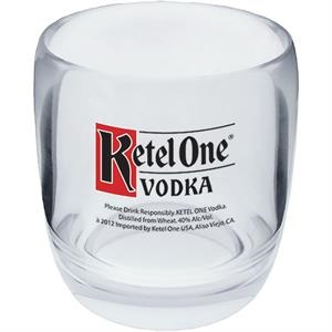Rocks Cup Made Of Clear Styrene. 8 Oz