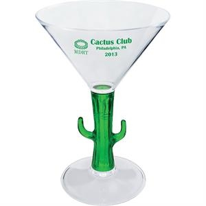 "Fish - Novelty Items 7 Oz Martini Glass, 4.125""w X 6""h"