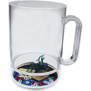Pirate Punch - 16 Oz Compartment Mug, Beach Theme